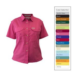 Ladies Short Sleeve Fishing Shirt