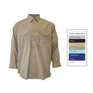 Men's Long Sleeve Fishing Shirt - Tall