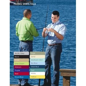 Men's Short Sleeve Fishing Shirt - Tall